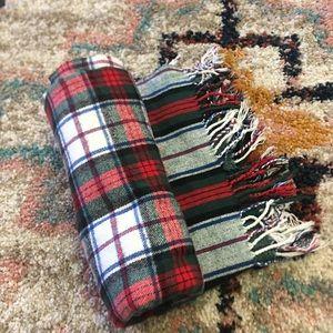 Nido notte Italia luxury throw blanket scarf